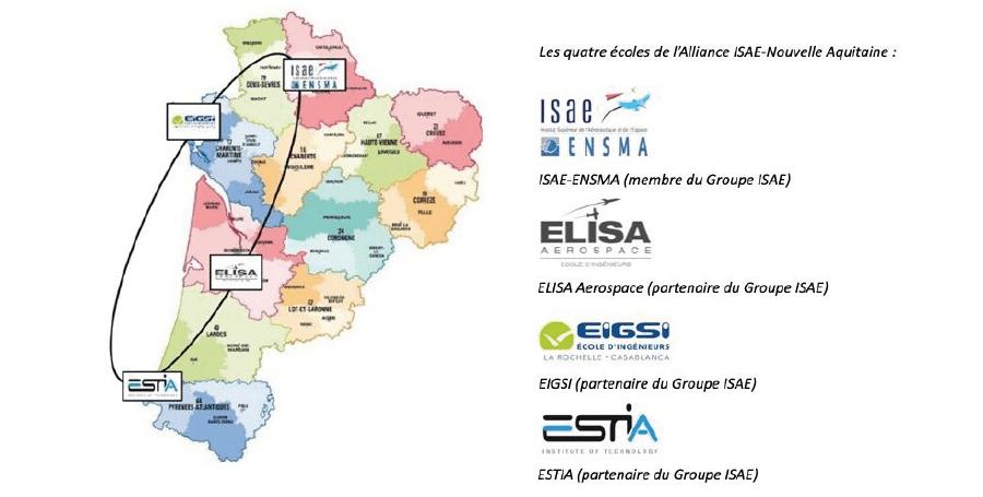 Ecoles membres isae alliance nouvelle aquitaine