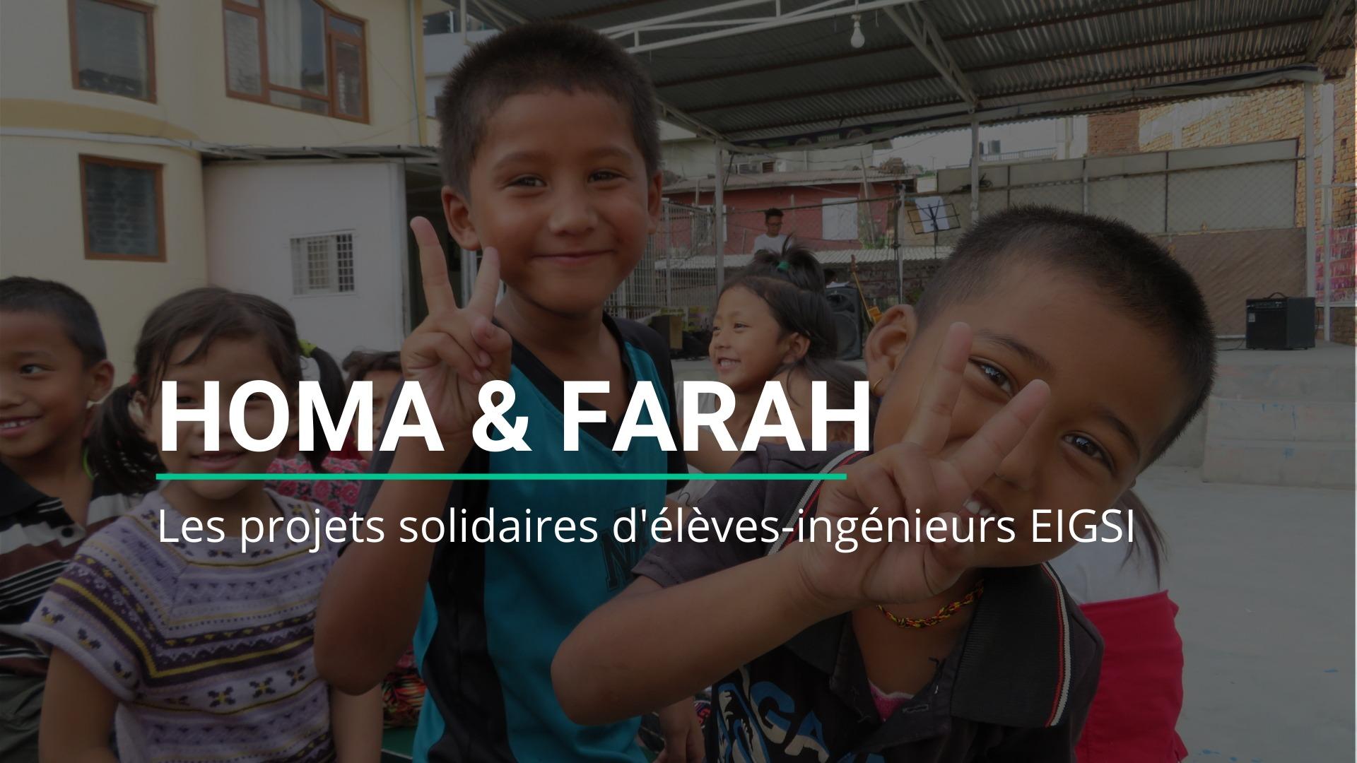 Homa et Farah
