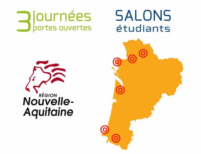 Rencontrez nous en nouvelle aquitaine 2017 2018 eigsi for Salon studyrama bordeaux