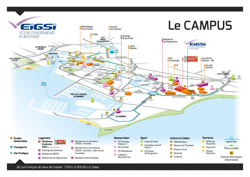 plan campus A4